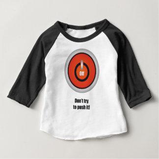 Esperanissa - schalten Sie mit Text aus Baby T-shirt