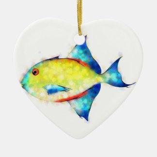 Esperimentoza - herrlicher Fisch Keramik Ornament