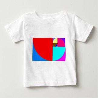 espiral Fibonacci Baby T-shirt