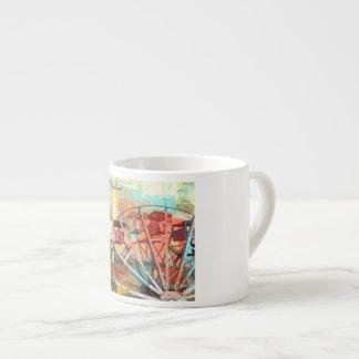 """Espresso-Tasse """"Leben ist ein Whirlwind - lebt sie Espressotasse"""