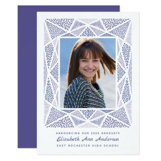 Esprit-Abschluss-Foto-Mitteilungs-ultraviolettes Karte