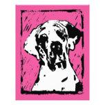 Esra Harlekin Deutsche Dogge 21,6 X 27,9 Cm Flyer