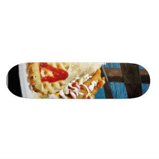 Essen am Kaiserstrand Bedrucktes Skateboard