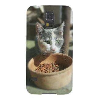Essen der Katze Samsung Galaxy S5 Hüllen
