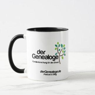 Essen, Schlafen, Genealogie Tasse