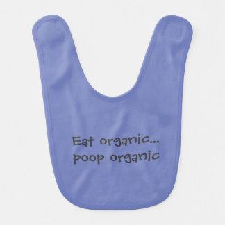Essen Sie Bio kacken Bio Babylätzchen