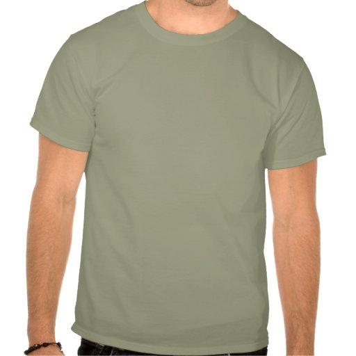 Essen Sie den sauberen schmutzigen Zug Hemd