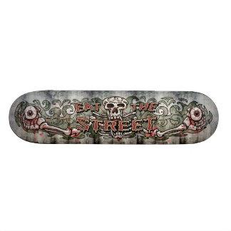 Essen Sie die Straßen-Logo-Plattform 19,7 Cm Skateboard Deck