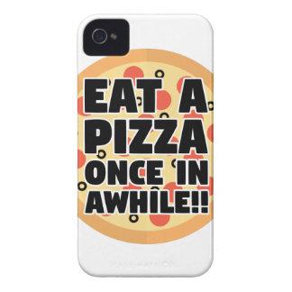 Essen Sie eine Pizza einmal herein eine Weile iPhone 4 Hüllen