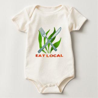 Essen Sie Einheimisches Baby Strampler