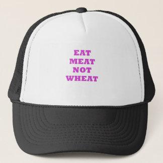 Essen Sie Fleisch-nicht Weizen Truckerkappe