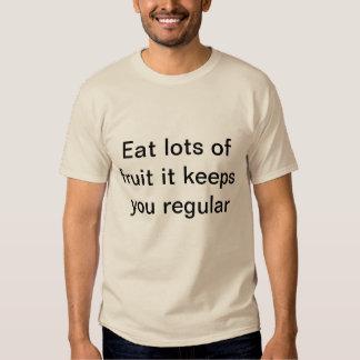 Essen Sie Frucht T-Stück Shirt