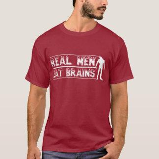 Essen Sie Gehirnzombie-Dunkelheitst-stück T-Shirt