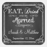 Essen Sie Getränk und seien Sie verheiratete Gastg