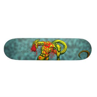 Essen Sie Ihr Herz-heraus Skateboard Bedruckte Skateboarddecks