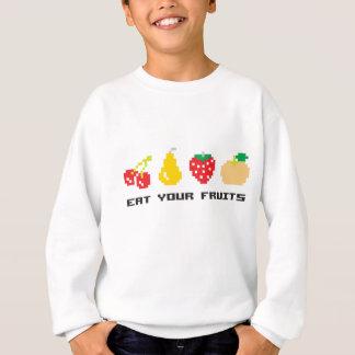 Essen Sie Ihre Früchte Sweatshirt