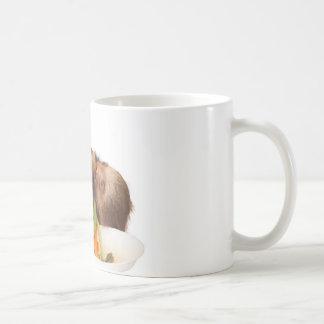 essen Sie Ihre Grüntöne Kaffeetasse