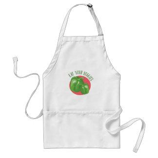 Essen Sie Ihre Veggies Schürze