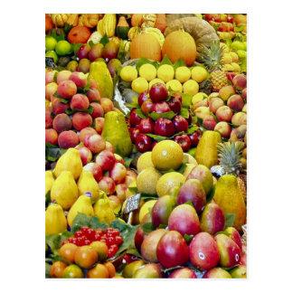 Essen Sie mehr Frucht Postkarte