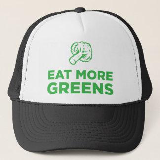 Essen Sie mehr Grüntöne Truckerkappe