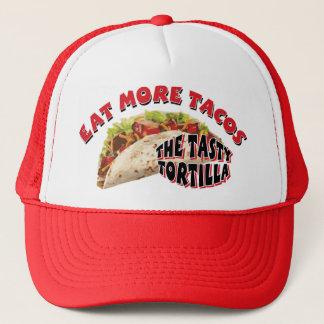 Essen Sie mehr Tacos Truckerkappe