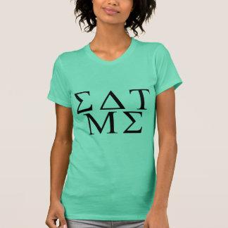 Essen Sie mich griechisch T-Shirt