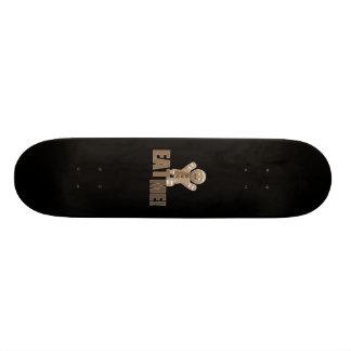 ESSEN SIE MICH! Lebkuchen-Mann - BrownSepia Individuelle Skateboarddecks