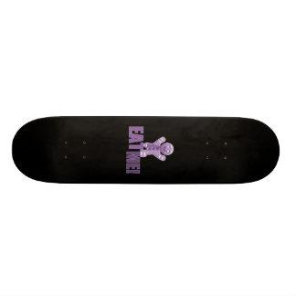 ESSEN SIE MICH! Lebkuchen-Mann - lila 19,7 Cm Skateboard Deck