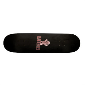 ESSEN SIE MICH! Lebkuchen-Mann - Rot Personalisierte Skateboards