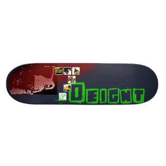 Essen Sie nicht Katze zur Hälfte Bedruckte Skateboarddecks
