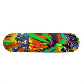 Essen Sie Plasma, Sucka! - Kunst der Graffiti-Sk8 Skateboarddeck