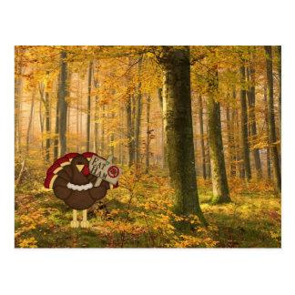 Essen Sie Schinken die nicht Türkei Postkarte