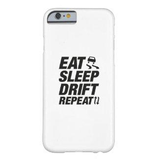 Essen Sie Schlaf-Antrieb-Wiederholung Barely There iPhone 6 Hülle