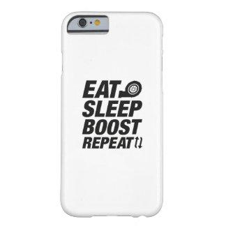 Essen Sie Schlaf-Auftriebs-Wiederholung Barely There iPhone 6 Hülle