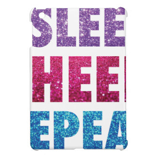 Essen Sie Schlaf-Beifall Repeat-07 iPad Mini Hülle