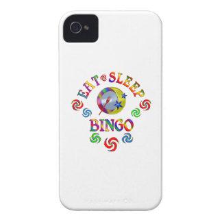 Essen Sie Schlaf-Bingo Case-Mate iPhone 4 Hülle
