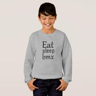 Essen Sie Schlaf bmx Sweatshirt
