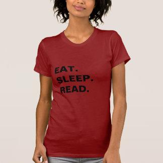 essen Sie. Schlaf. gelesen T-Shirt