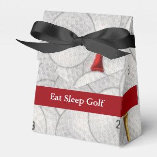 Essen Sie Schlaf-Golf Geschenkschachtel