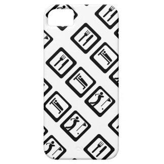 Essen Sie Schlaf-Golf iPhone 5 Schutzhülle