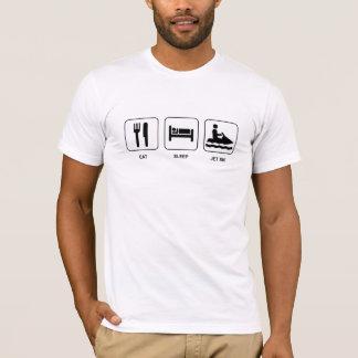Essen Sie Schlaf-Jet-Ski T-Shirt
