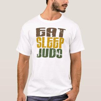 Essen Sie Schlaf-Judo 1 T-Shirt