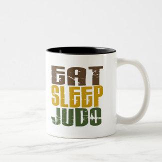 Essen Sie Schlaf-Judo 1 Teetasse