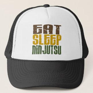 Essen Sie Schlaf Ninjutsu 1 Truckerkappe