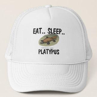 Essen Sie Schlaf PLATYPUS Truckerkappe