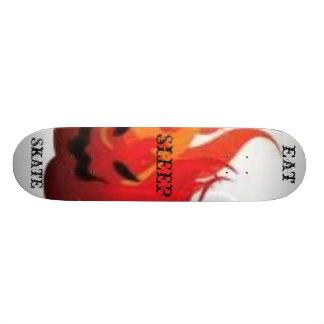 essen Sie Schlaf-Skate Skateboard Brett