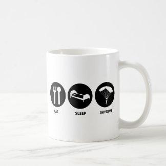 Essen Sie Schlaf SkyDive Kaffeetasse