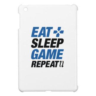 Essen Sie Schlaf-Spiel-Wiederholung iPad Mini Hülle