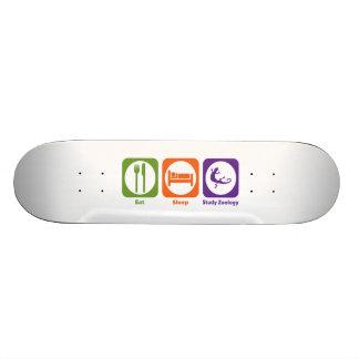 Essen Sie Schlaf-Studien-Zoologie Individuelles Skateboard