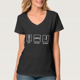 Essen Sie Schlaf-Tanz-T - Shirt